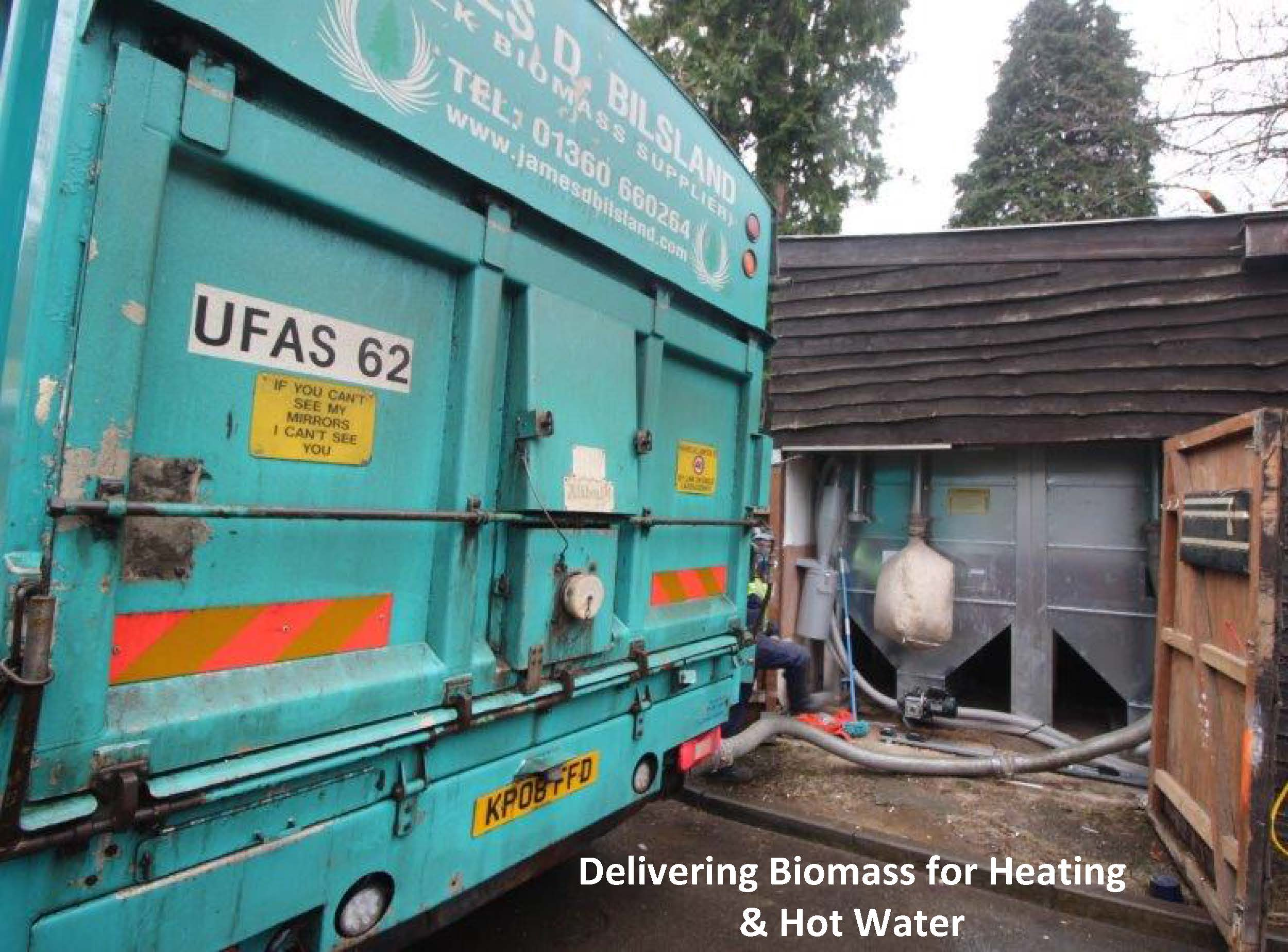 Delivering Biomass for Heating